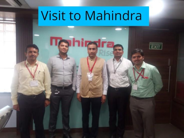 Visit to Mahindra