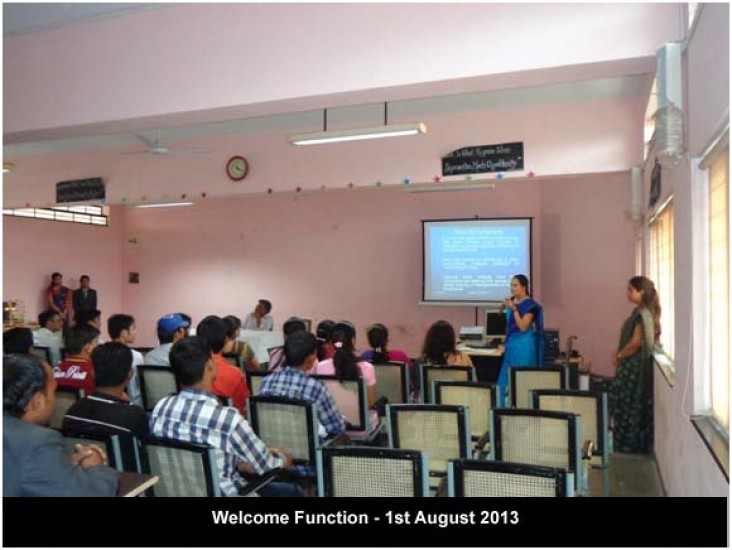 Welcome Function Aug 2013