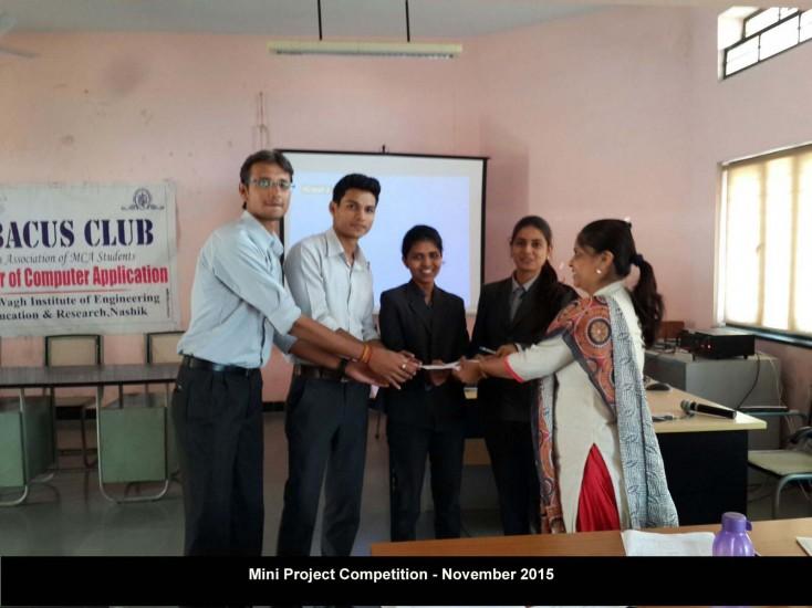 Mini Project Competition Nov. 2015